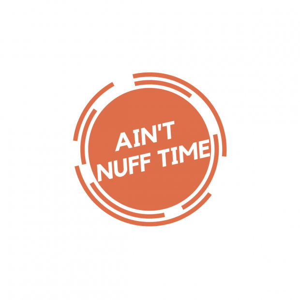 AINT NUFF TIME logo